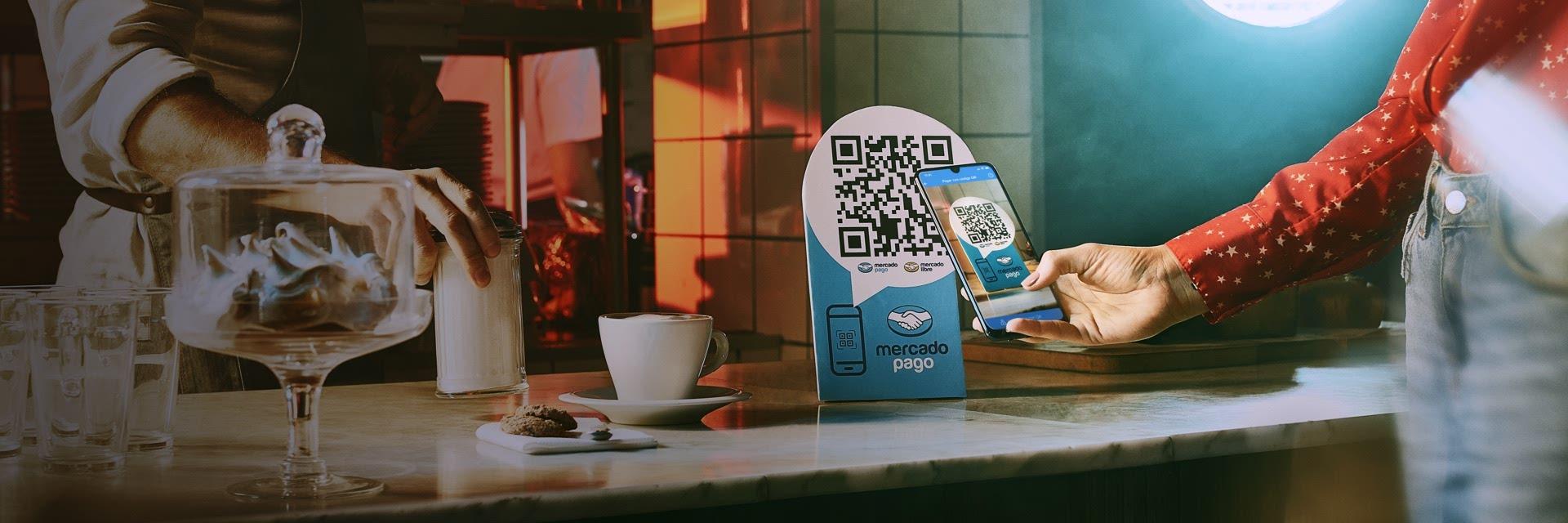Mercado pago es la forma online de cobrar a los clientes. Simple, rapido y fácil. Bistrosoft está integrado con esta forma de pago.